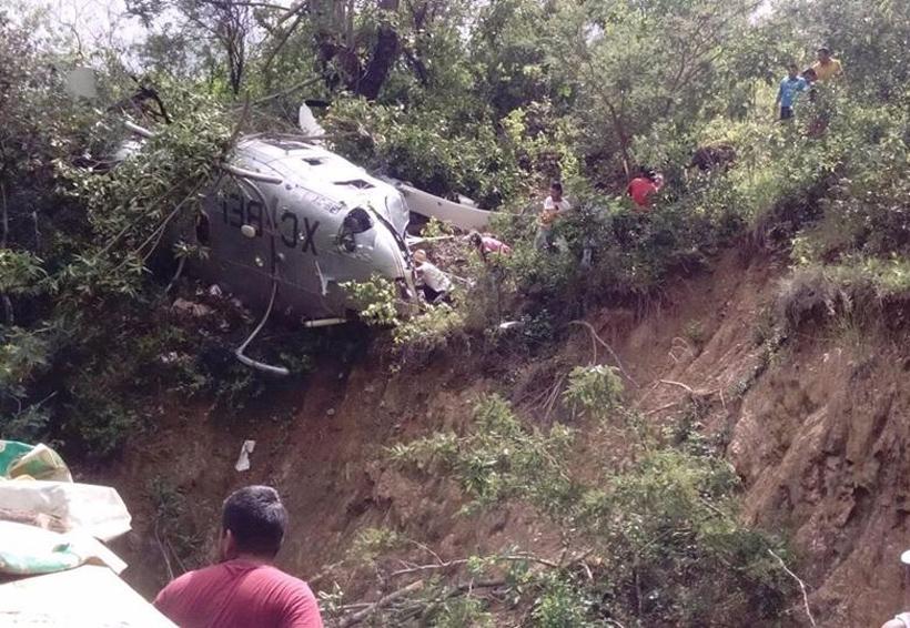 Cae helicóptero con víveres en Oaxaca   El Imparcial de Oaxaca