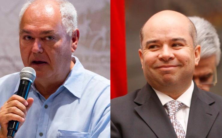 Dos secretarios de Finanzas con Cué, detenidos por peculado