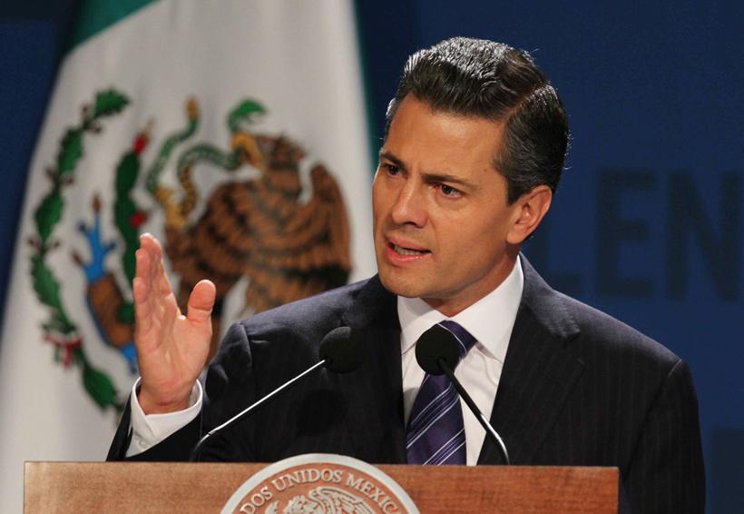 Así vivió Peña Nieto el sismo en Los Pinos