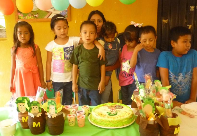Cumpleaños de Max Abdiel