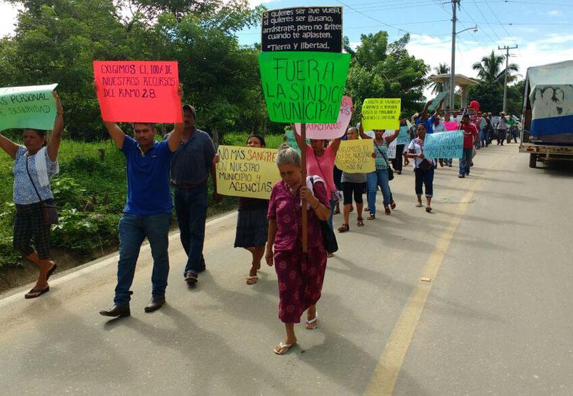 Piden cuentas claras a  presidente de Huazolotitlán, Oaxaca | El Imparcial de Oaxaca