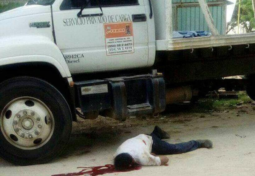 Asesinan a balazos mecánico en Río Grande, Oaxaca | El Imparcial de Oaxaca