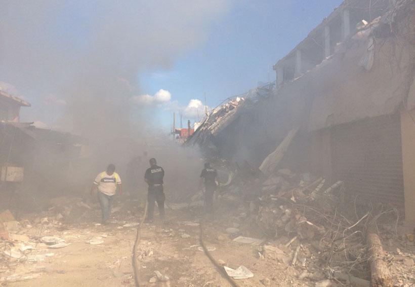 Llueve sobre mojado en Matías Romero, ahora un incendio | El Imparcial de Oaxaca