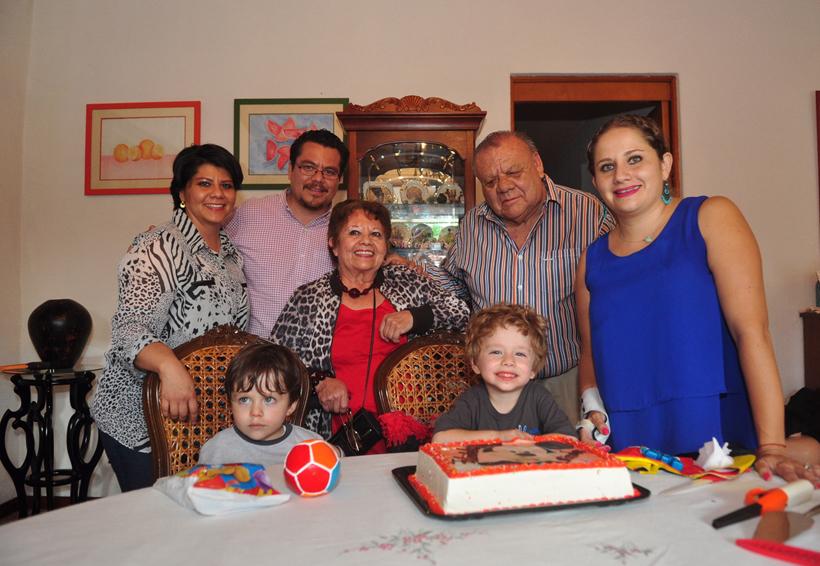 ¡Felices 3 años, Nicolás!