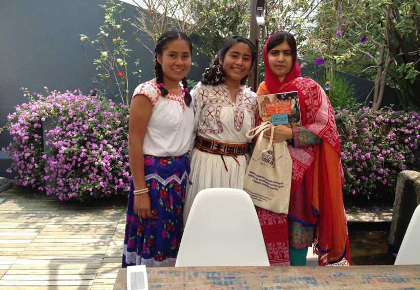 Premio Nobel de la Paz intercambia experiencias con becarias de Oaxaca | El Imparcial de Oaxaca