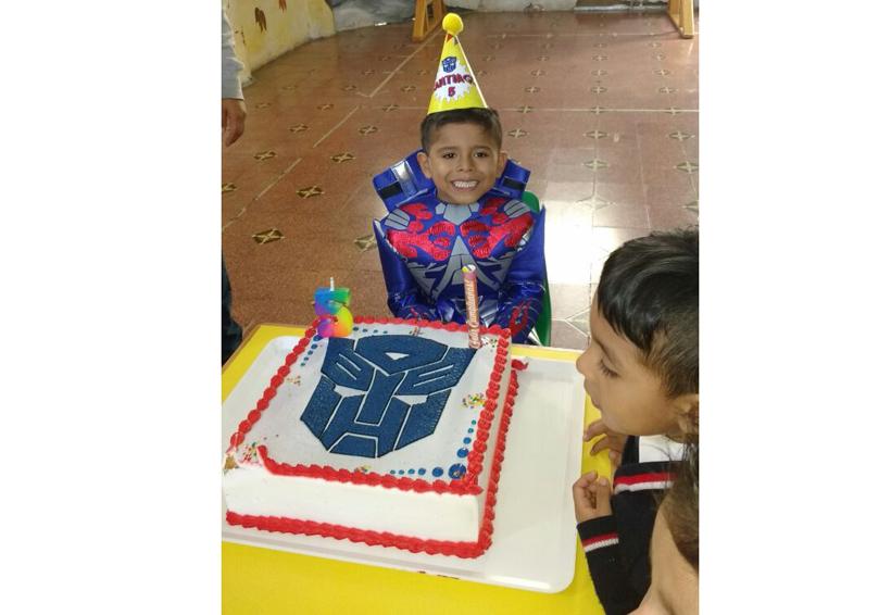 ¡Feliz cumpleaños Santiago!