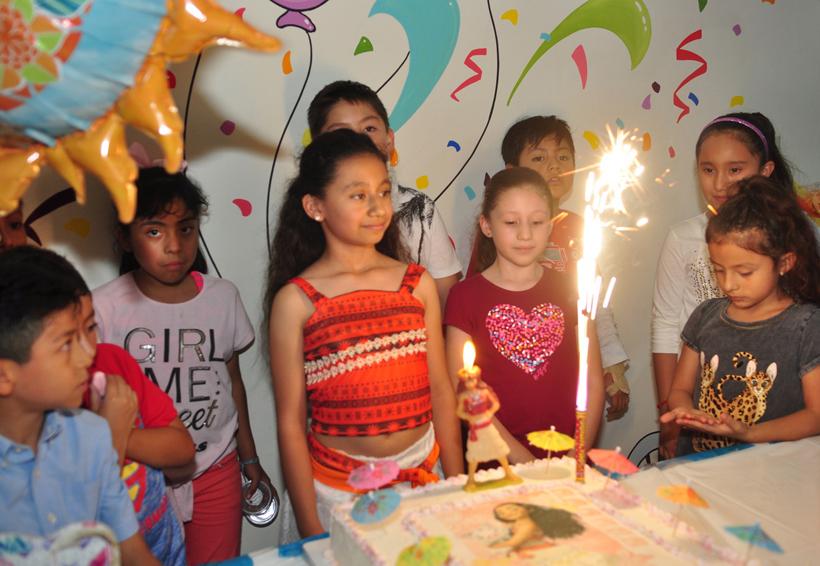 Valeria celebra 9 años