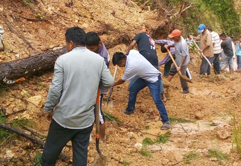Incomunicadas varias poblaciones de Putla, Oaxaca