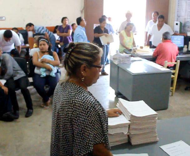 Registro Civil de Tuxtepec, sin material