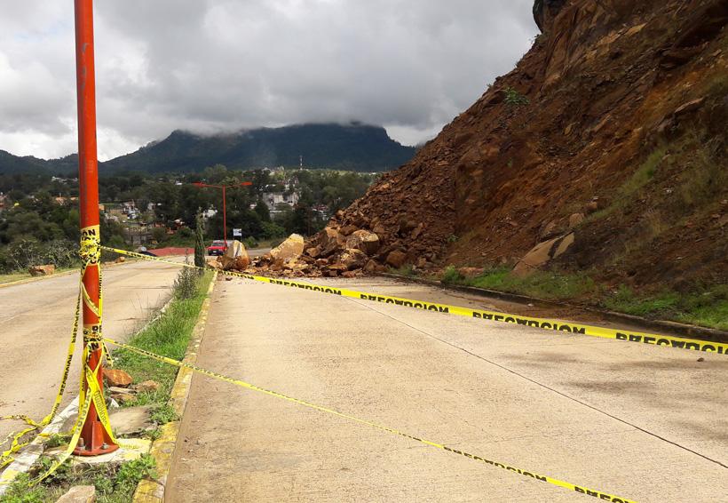 En Tlaxiaco atienden daños por la lluvia
