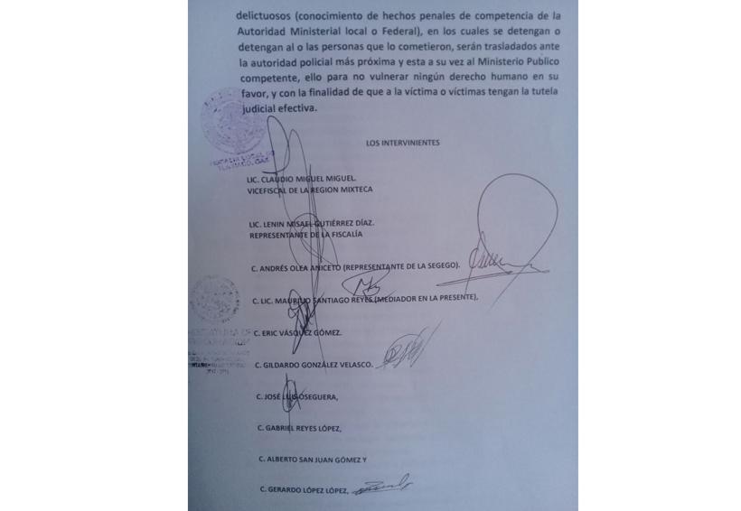 """Primera captura de uno de los implicados en el """"linchamiento"""" al fiscal de Tlaxiaco, Oaxaca"""