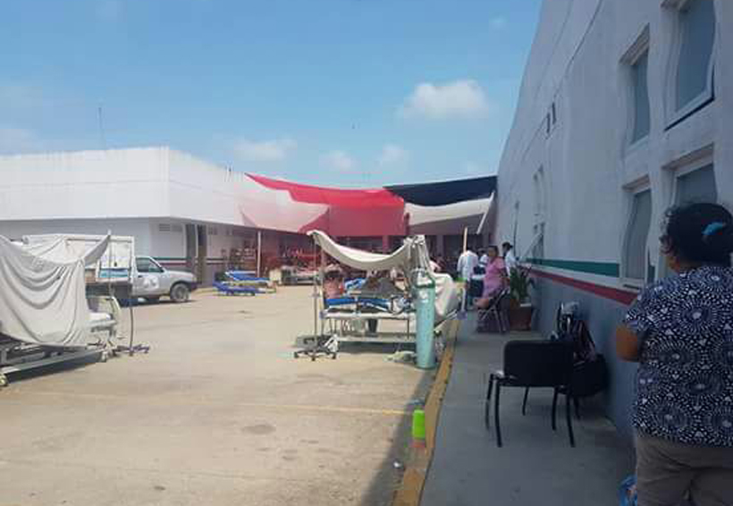 Sismo provoca desalojo en Hospital de Especialidades del Istmo de Oaxaca