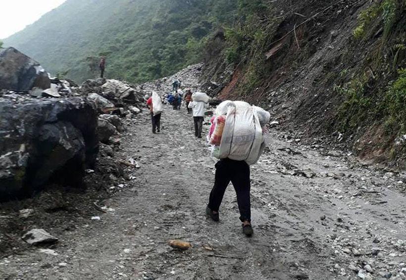 Sierra Mixe de Oaxaca continúa esperando apoyo