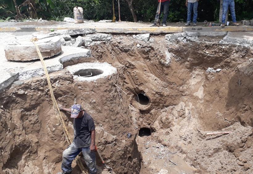 Localizan fallas en tuberías de drenaje de Tuxtepec, Oaxaca | El Imparcial de Oaxaca