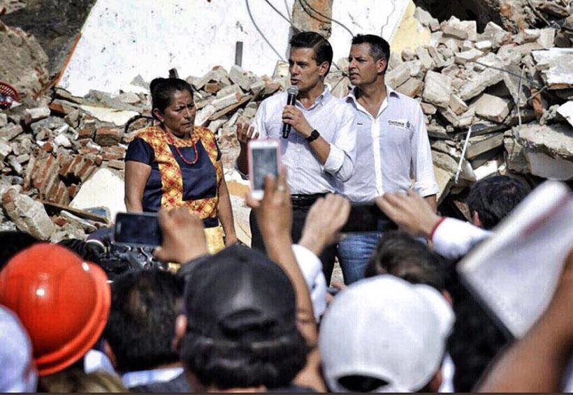 Declara Peña Nieto luto nacional por Juchitán | El Imparcial de Oaxaca