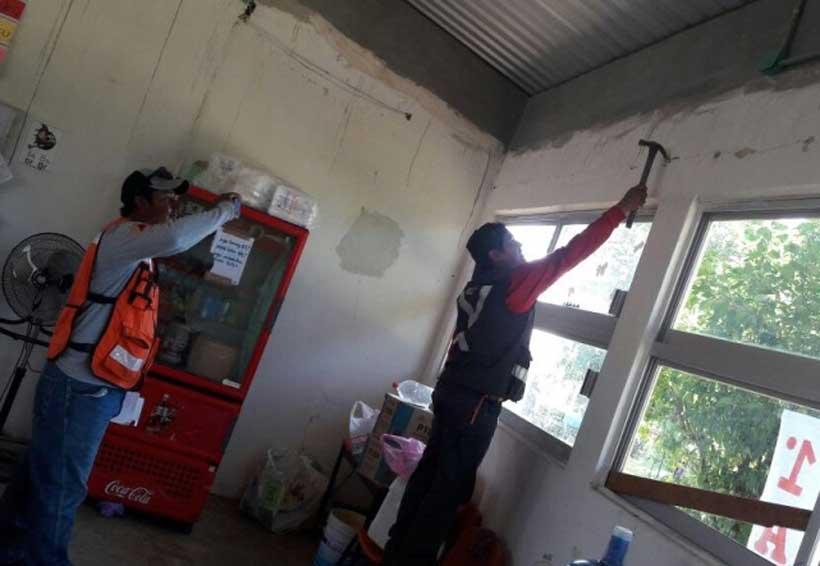Daños en edificios escolares de Tuxtepec, Oaxaca | El Imparcial de Oaxaca