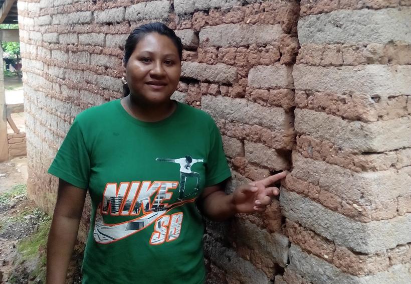 Daños menores en la Costa Chica de Oaxaca