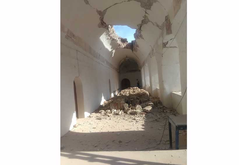 Patrimonio histórico de Oaxaca, entre los afectados por sismo