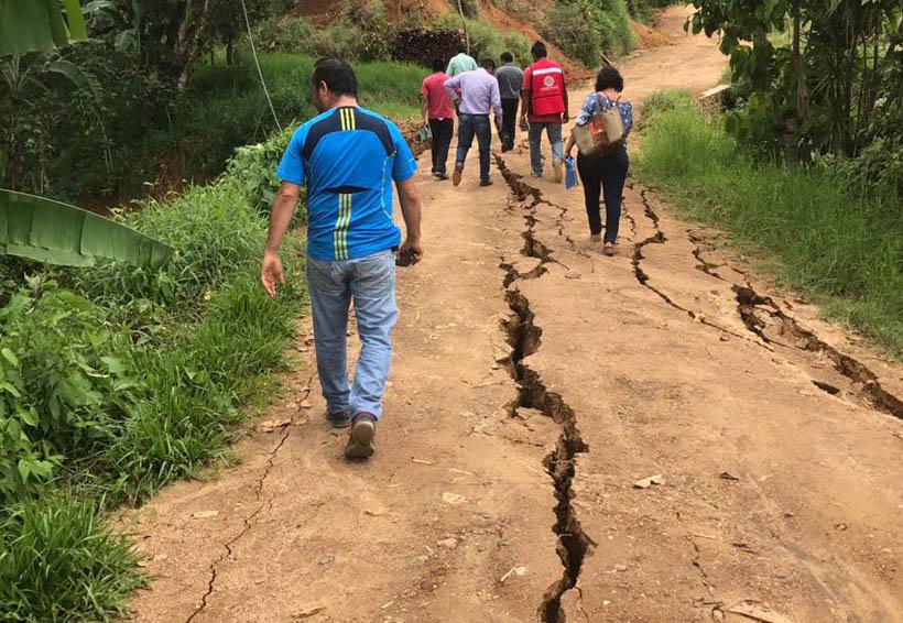 Más de 12 mil viviendas dañadas por el terremoto en la Costa de Oaxaca