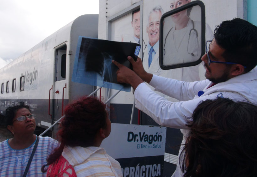 El Doctor Vagón  llega a Juchitán el martes
