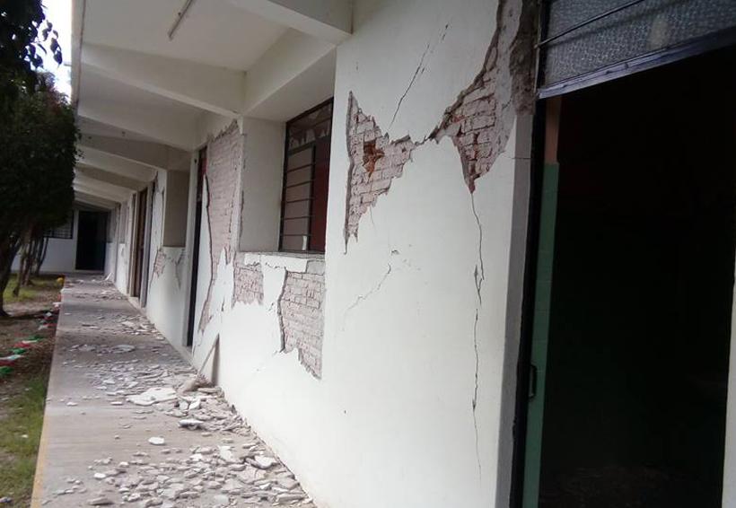 14 templos católicos dañados en la Mixteca de Oaxaca