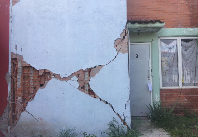 Aumentan las viviendas dañadas en la Mixteca de Oaxaca