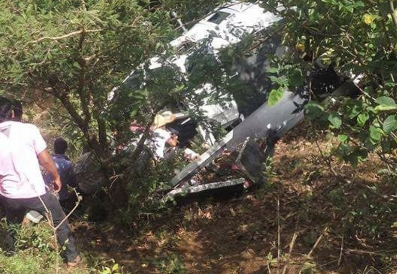 Se desploma  helicóptero  de la PGR en Oaxaca