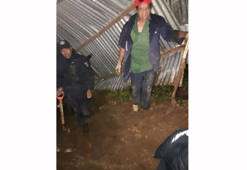 Lluvias devastadoras dejan tres muertos en Oaxaca