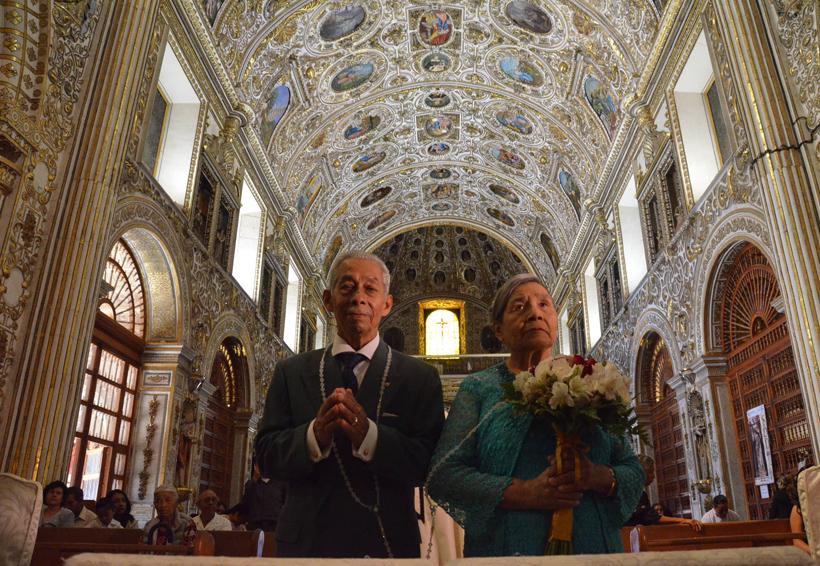 José y Natalia celebraron 50 años de haberse jurado amor