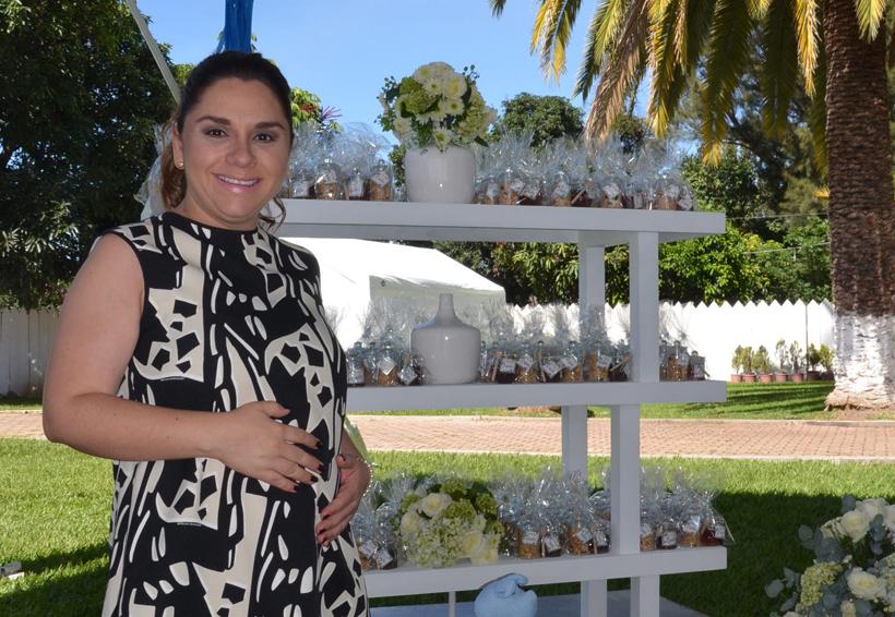 Claudia en espera de su bebé