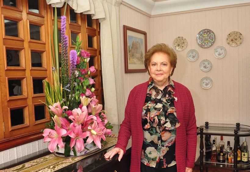 Doña Mercedes cumple 90 años