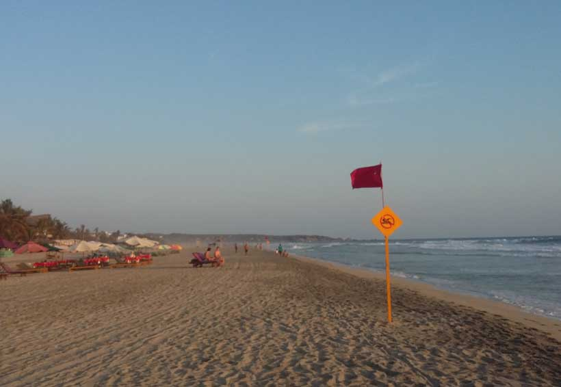 Solicita Comité de Playas Limpias de Zicatela, barredora de playa