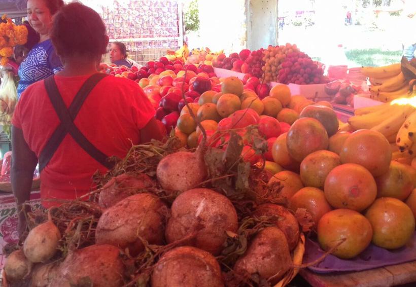 Dramático escenario para vendedores del Istmo de Oaxaca
