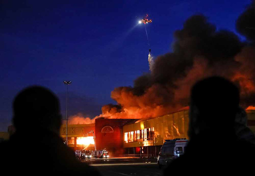 Video: Evacuan a miles en Rusia por incendio en centro comercial | El Imparcial de Oaxaca