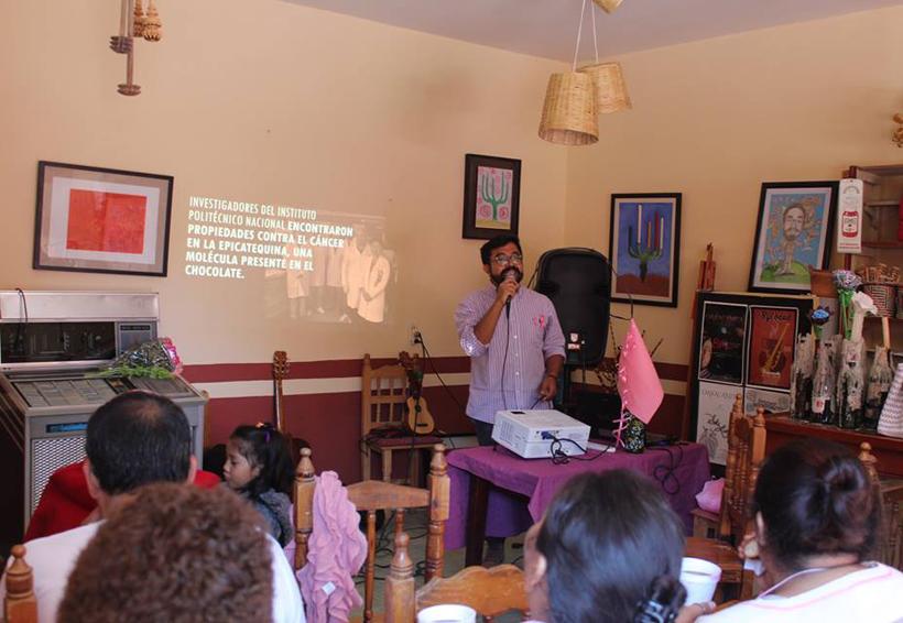En Tamazulápam del Progreso buscan concientizar sobre el cáncer de mama