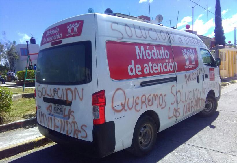 Denuncian burla del  Infonavit en Huajuapan de León, Oaxaca