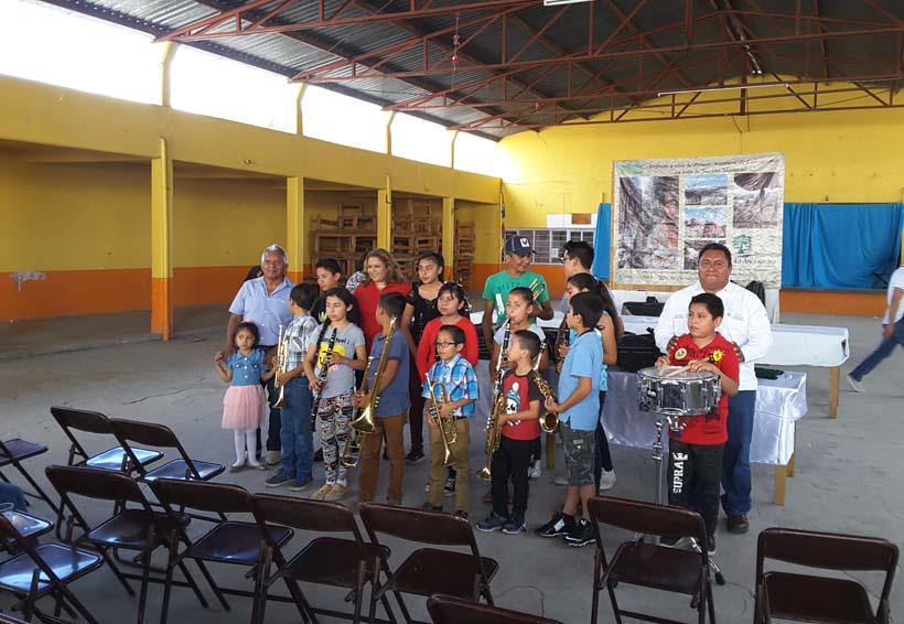 En San Marcos Arteaga nace la Banda Sinfónica Municipal