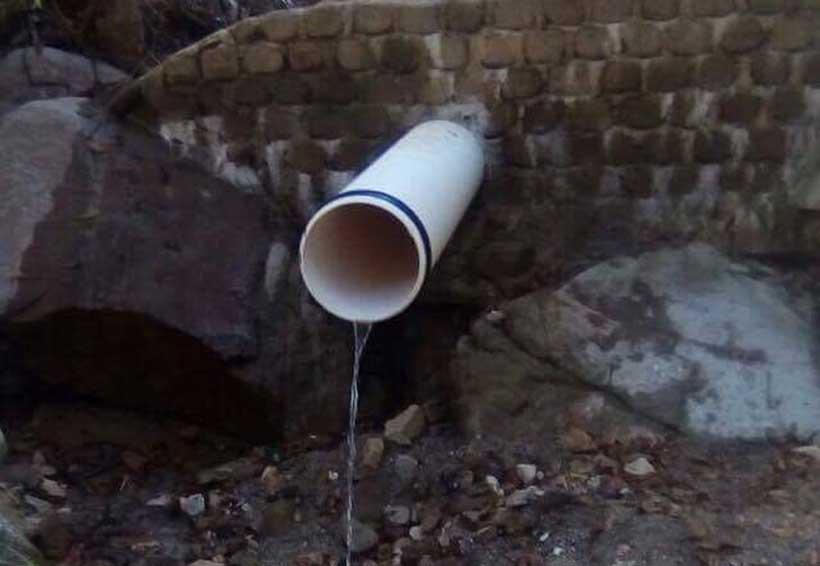 Red de drenaje de Pinotepa Nacional, desembocará en río 'Las Pulgas'
