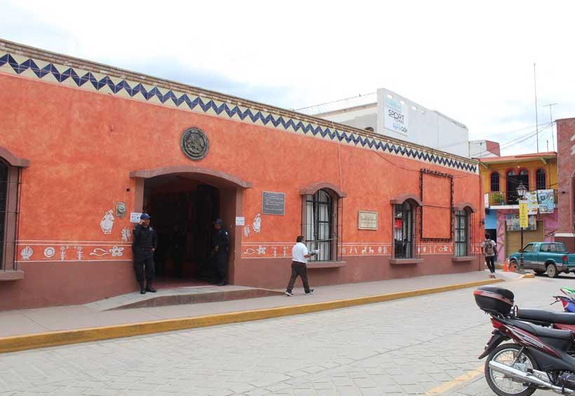 Maltratan la Casa de la Cultura de Huajuapan de León, Oaxaca