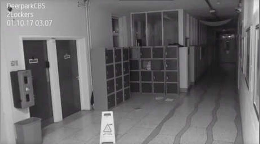 Captan a supuesto fantasma en escuela de Irlanda