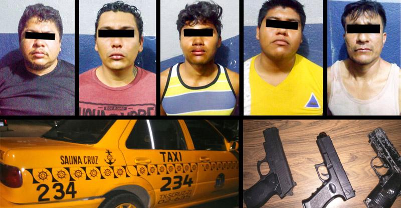 Desarticulan a banda de asaltantes de 'ciber' en Salina Cruz | El Imparcial de Oaxaca