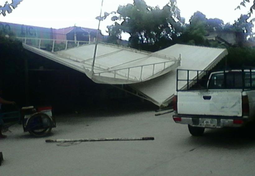 Fuertes vientos en Río Grande destruye techos | El Imparcial de Oaxaca