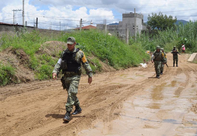 Disminuye índice delictivo por patrullajes del Ejército en Oaxaca | El Imparcial de Oaxaca