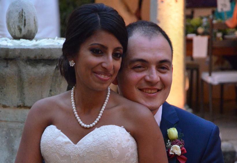 Nicole y Juan Francisco unen sus vidas