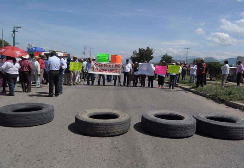 Condenan acciones radicales de dirigentes de Colonias Unidas de Zaachila, Oaxaca | El Imparcial de Oaxaca