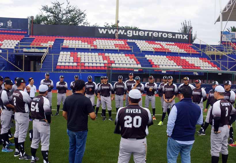 Guereros de Oaxaca listos para Liga Invernal