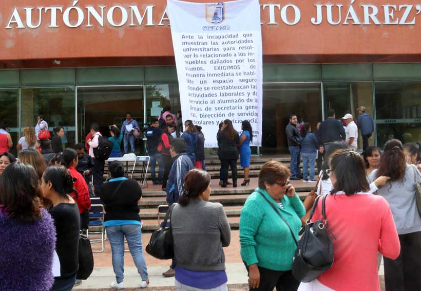 Emplaza STEUABJO a rector explique situación financiera | El Imparcial de Oaxaca