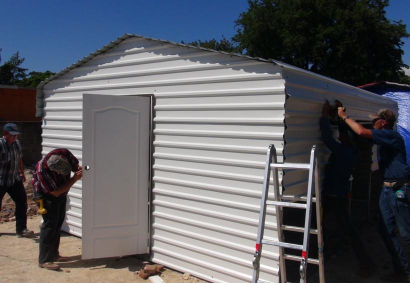Preparan yurtas en el Istmo de Oaxaca