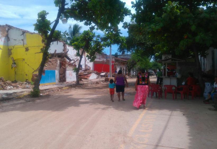 A un mes del sismo que cambió la vida de habitantes del Istmo de Oaxaca
