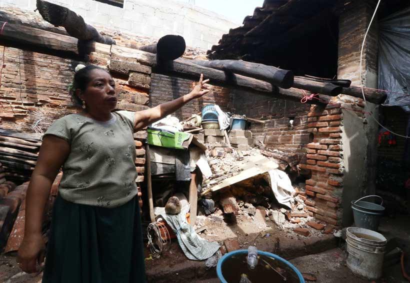 La reconstrucción en Oaxaca y Chiapas, en pausa | El Imparcial de Oaxaca